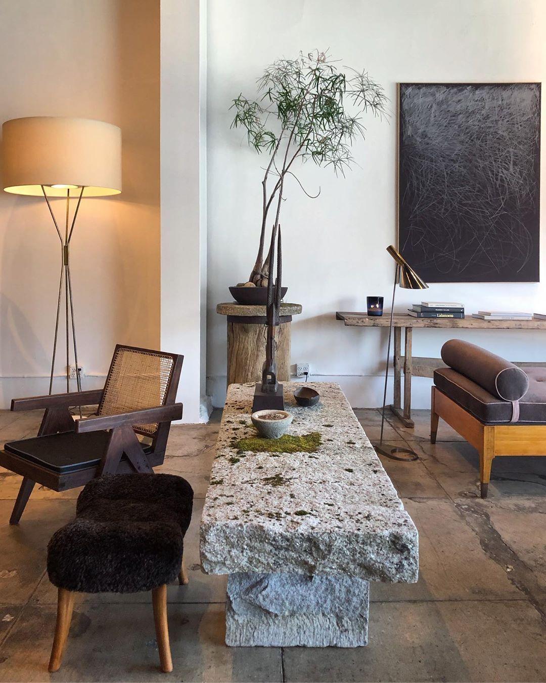 "Nam Dang-Mitchell Design on Instagram: ""Beautifully curated @galerie_half  #vintage #midcenturymodern #design #interiordesign #jeanneret #sigh"""