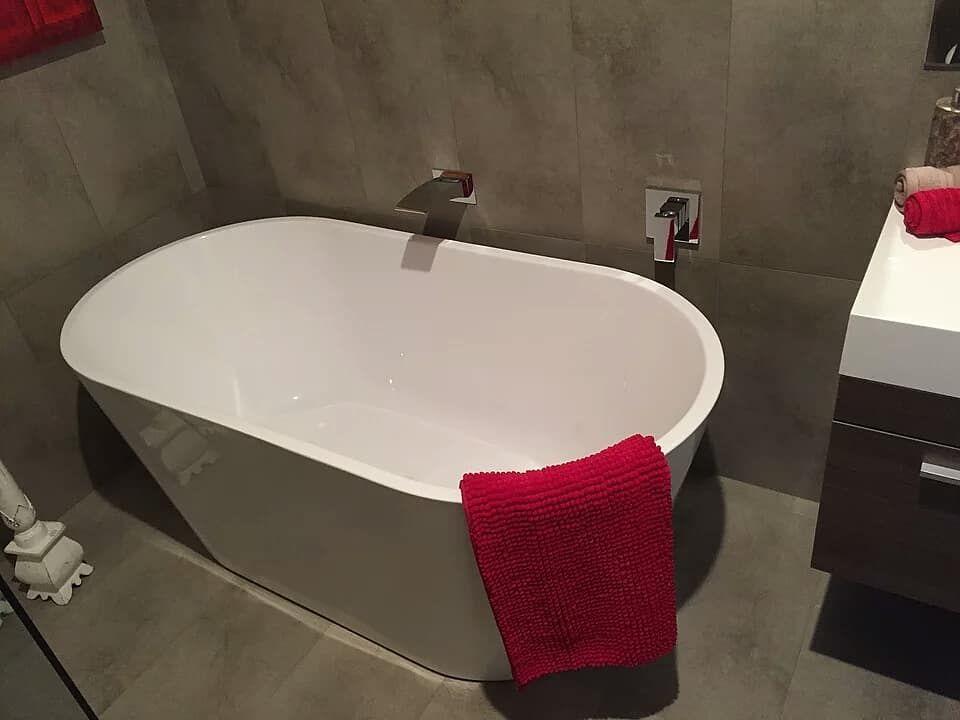 LUGANO acrylic Bathtub 1500mm   ovale free standing   Lugano ...