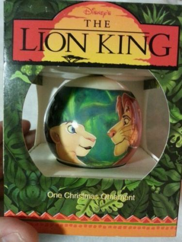 Details About Simba Of The Lion King Disney Grolier Christmas