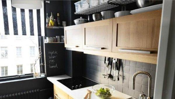 Décoration et aménagement d\'une petite cuisine fermée | Decorating ...