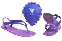 6f8670826677c Flipsters Fold-Up Thongs  Purple -  29.95  foldableshoes