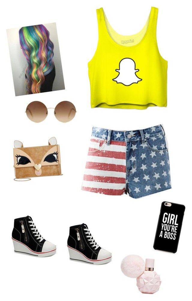 """""""Untitled #2"""" by littlemixperrielove ❤ liked on Polyvore featuring Betsey Johnson, Victoria Beckham and Bullhead Denim Co."""
