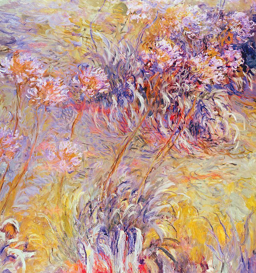 impressionism monet flowers - photo #3