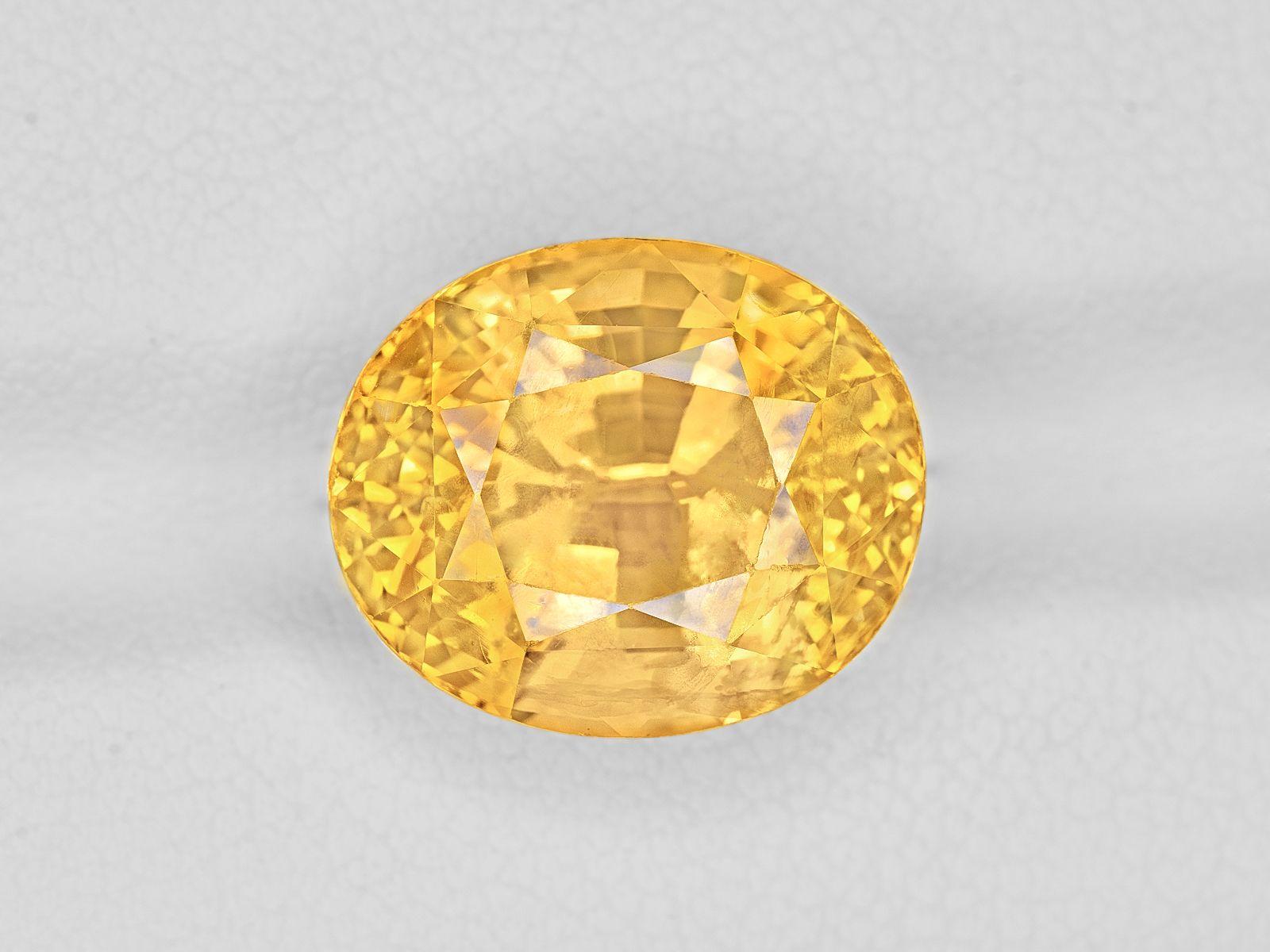 Yellow Sapphire 12 12ct Mined In Sri Lanka Certified By Grs Yellow Sapphire Fancy Sapphire Sapphire Stone