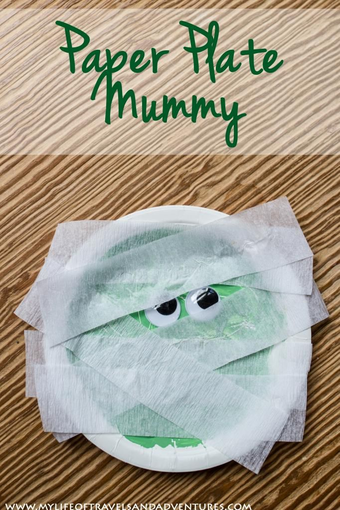 A Mummy Toddler halloween crafts, Toddler halloween and Craft