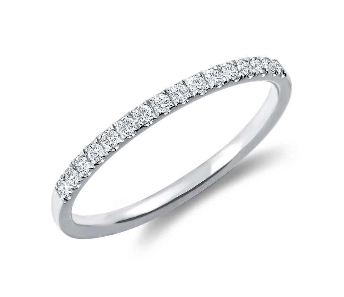 1.40Ct Round Cut Diamond Women/'s Half Eternity Band Ring 14K White Gold Finish