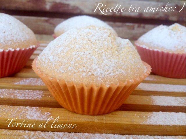 Tortine al #limone #ricettetraamiche