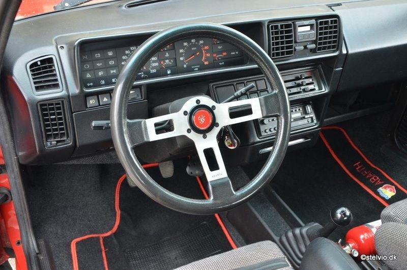 Fiat Ritmo Abarth 130 Tc Auto Oldtimers Vervoer