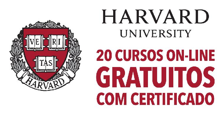 Harvard Oferece 20 Cursos Online Gratuitos Com Certificado Cursos Gratuitos Cursos Online Cursos Gratuitos Com Certificado