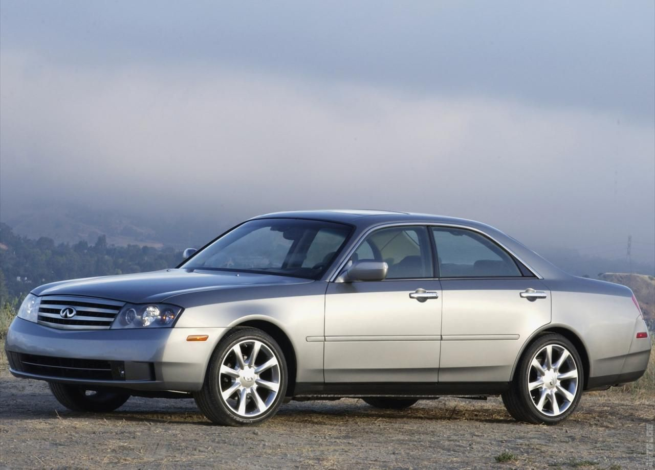 2003 Infiniti M45- This car looks to me like a future classic car. The  simple and sleek design gives it a vintage look with all of the modern  technology ...