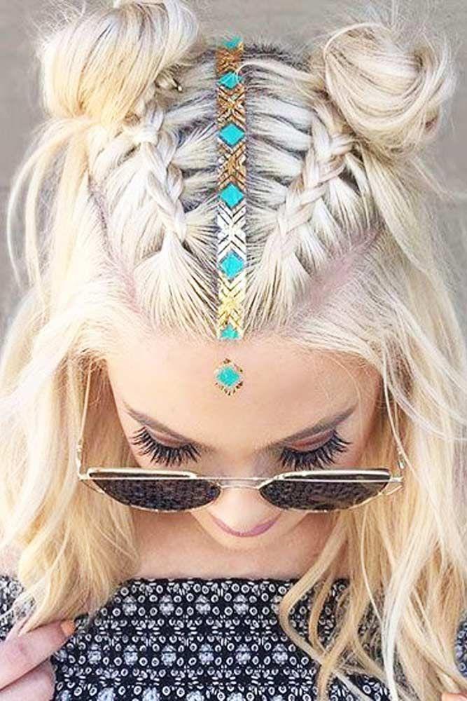 27 Easy Cute Hairstyles for Medium Hair #cutehairstylesformediumhair