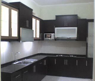 Kitchen Set Murah Bekasi Interior Rumah Pinterest Kitchen Sets