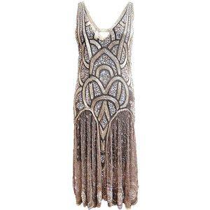 1920s Bead Sequin Rose Gold Fler Sew Inspired Pinterest