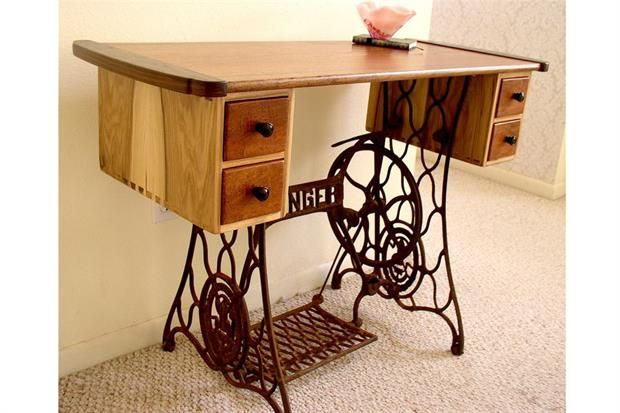De máquina de coser a mueble para la casa: la historia de