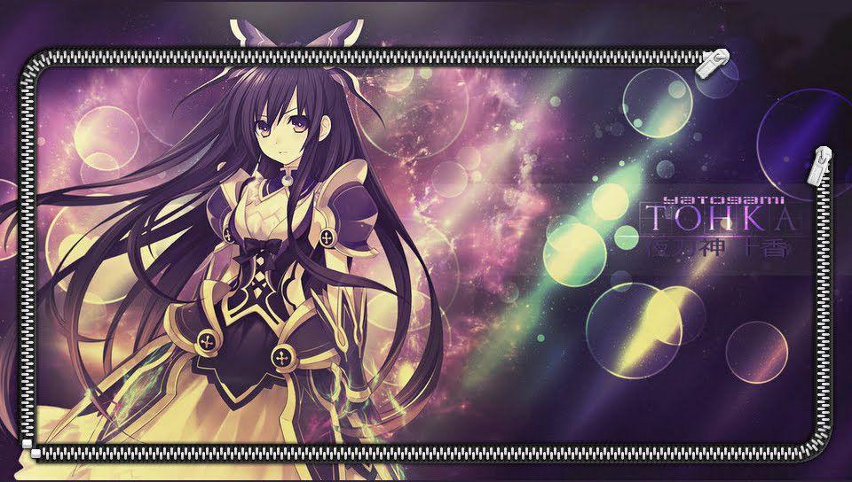 Date A Live Ps Vita Wallpapers Free Ps Vita Themes And Wallpapers Anime Fairy Wallpaper Anime Wallpaper