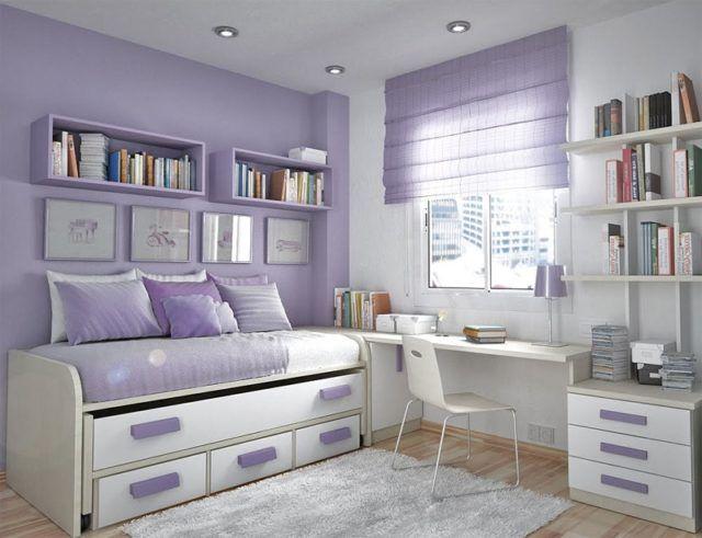 Colores para cuartos juveniles | Decoraciones de hogar | Recamara ...