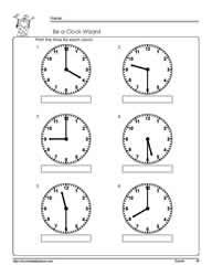 10 freebie telling time half hour worksheets kindergarten telling time 2nd grade math. Black Bedroom Furniture Sets. Home Design Ideas
