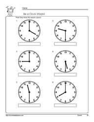 10 freebie telling time half hour worksheets kindergarten telling time 2nd grade math. Black Bedroom Furniture Sets. Home Design Ideas