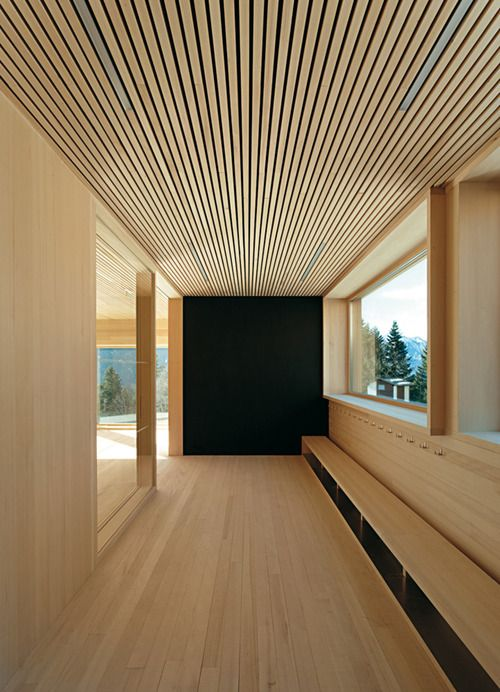 Timber Architecture Interiar Moderne Hus Hytte
