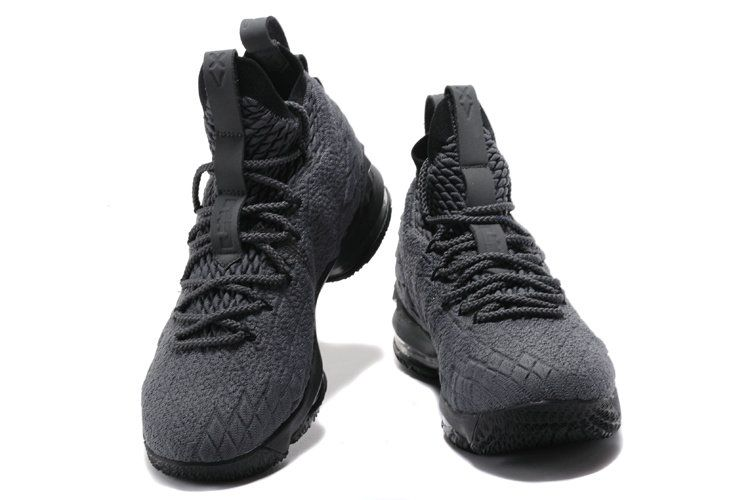 6bed4aaca7dc0 2018-2019 Cheap Official Shoes Cheap LeBron Shoes 2018 Lebron James 15 Wolf  Grey Black