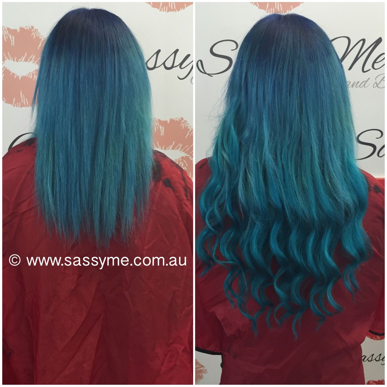 Ombre Colour And Hair Extensions By Sassy Me Hair Beauty 3
