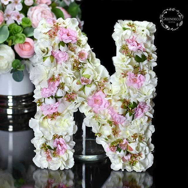 Greendeco Online Shop Na Instagramie Litery I Liczby Kwiatowe Zapraszamy Do Sklepu Www Greendeco Org Literka Sesjezdje Floral Wreath Floral Wreaths