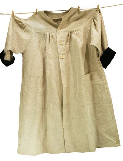 smock linen//cotton blend original traditional design  by Béni artist