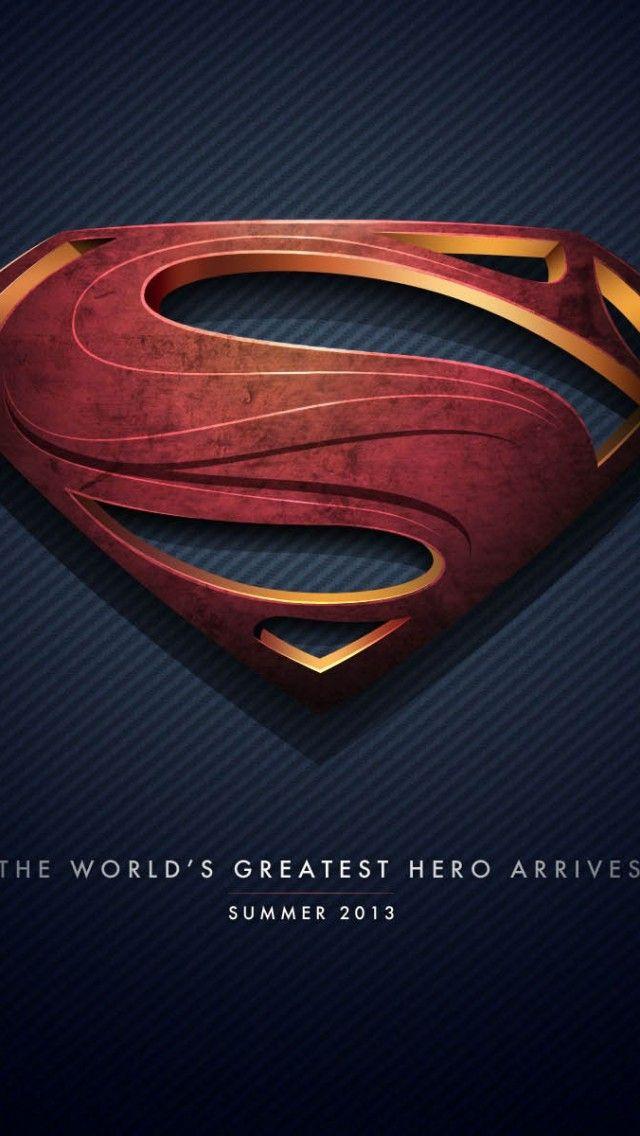 Superman Man Of Steel Logo Iphone Wallpapers Is A Fantastic Hd
