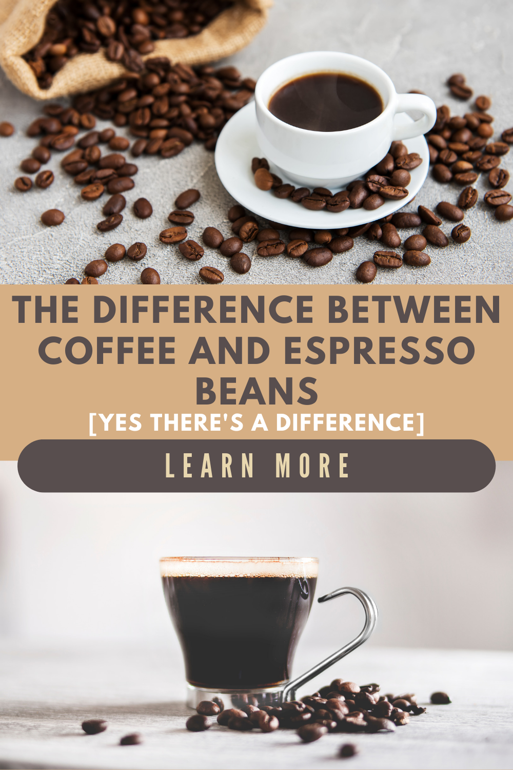 Espresso Beans Vs Coffee Beans What S The Difference Espresso Beans Coffee Beans Coffee Flavor