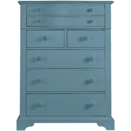 Stanley Furniture - Coastal Living Cottage Chest in Wave Finish