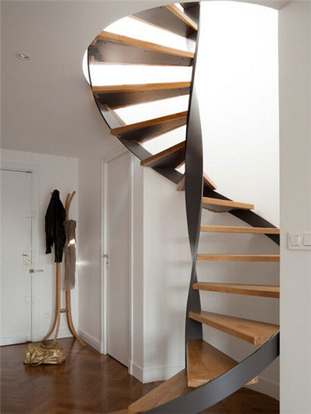 Best Steel Wood Spiral Staircase In 2020 Staircase Design 640 x 480