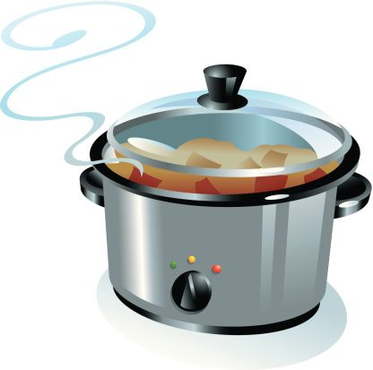 crock pot clip art vector images illustrations istock rh pinterest com clipart pot de départ à la retraite clipart pot de fleur