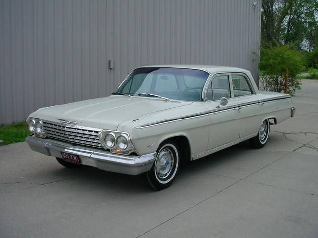1962 Chevrolet Impala 4 Door Sedan V8 Auto This Is The First
