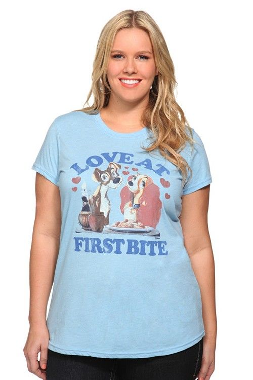 36470907e Junk Food- Disney Lady and the Tramp tee from Torrid.com | Wish List ...