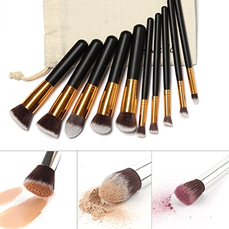 ThinkMax 10pcs Professional Makeup Brushes, Cosmetic