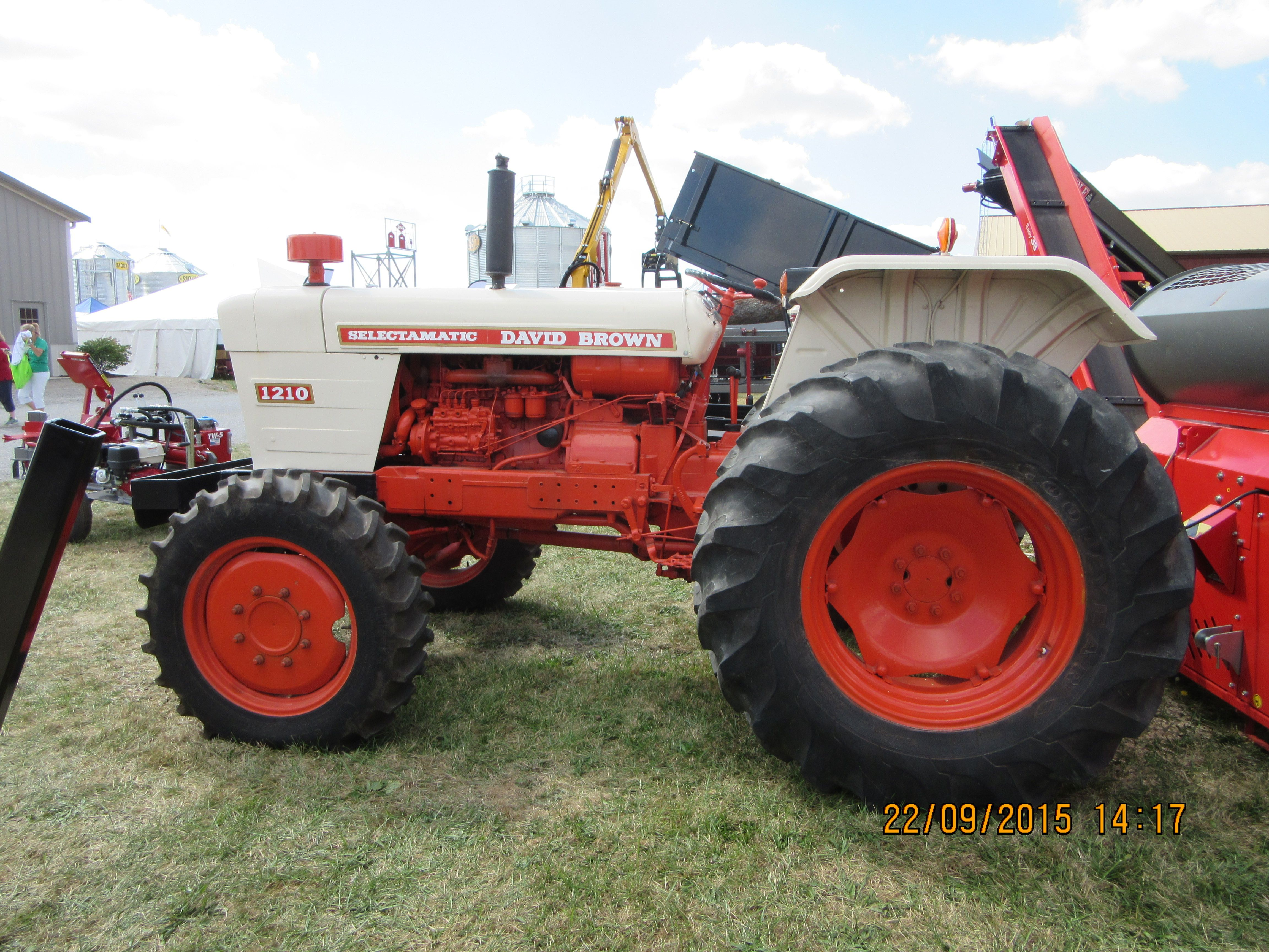 Case 990 Farm Tractors Parts : David brown selectamatic j i case equipment