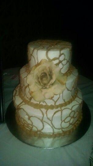 Our 15th Wedding Anniversary Cake Yum Gorgeous