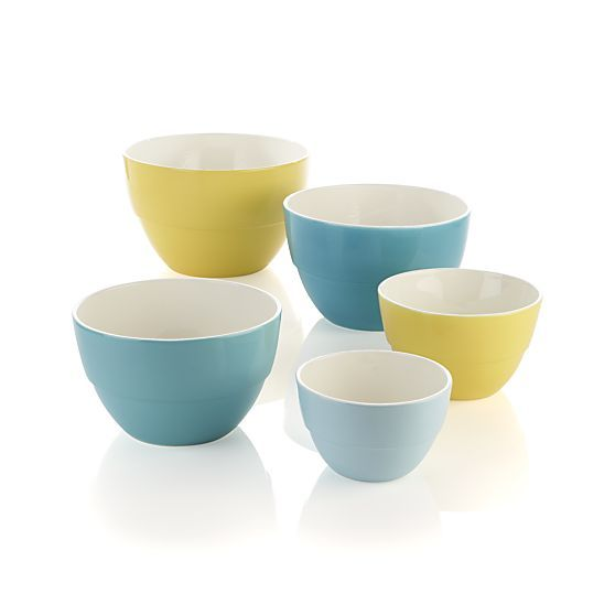 5 Piece Market Nesting Bowl Set Nesting Bowls Bowl Bowl Set