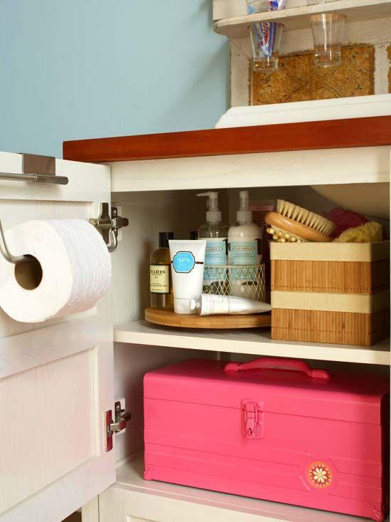 bathroom storage and organization tips