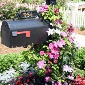 landscaping around mailbox post. Landscaping Around Your Mailbox Post