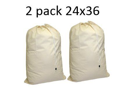 Cotton Duck Extra Large Cotton Laundry Bag Handy Laundry With