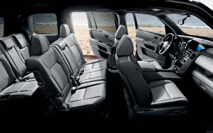 2015 Honda Pilot Interior Photo Gallery Official Honda Site Auto Carros Criancas Fofas