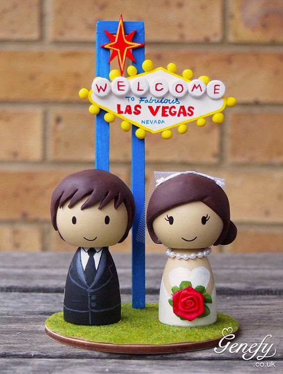 Schoenfeld Firth You Definitely Need This For The Partay Xx Las Vegas Sign Destination Wedding Cake Topper By GenefyPlayground