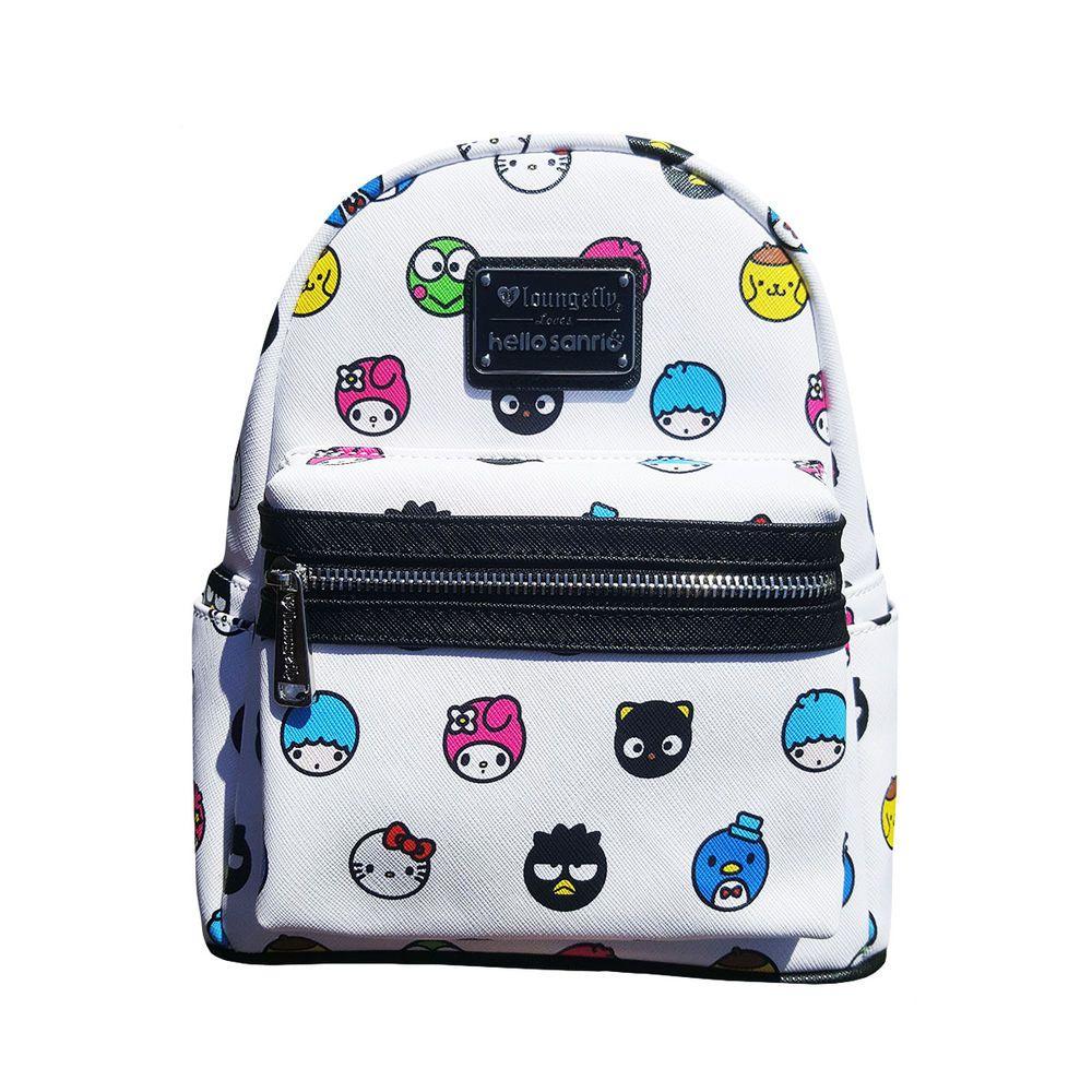 258704c3bc Loungefly Hello Sanrio Kawaii Pom Pom Purin Emoji Character mini backpack  NEW  Loungefly  Backpack