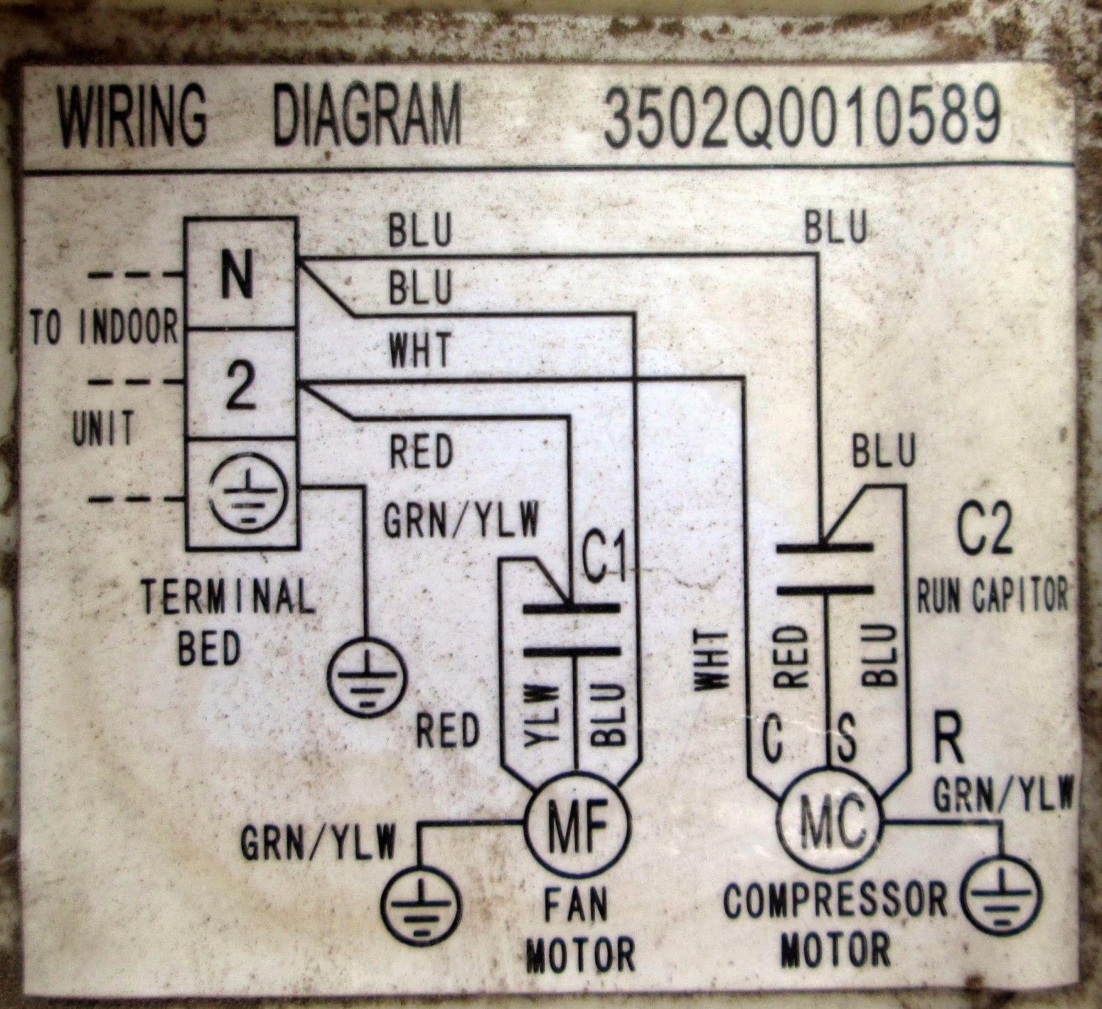Wiring Diagram Ac Sharp Inverter New Service Ac Kota