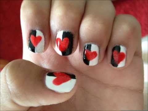 Queen Of Hearts Inspired Nails YouTube, Queen Of Hearts
