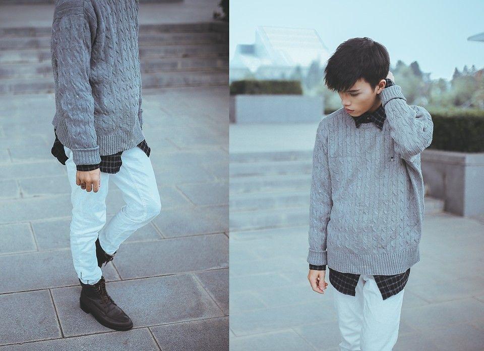 Vie A. - Gray Sweater