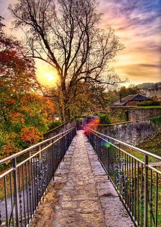 The Wishing Bridge, Neuchatel, Switzerland