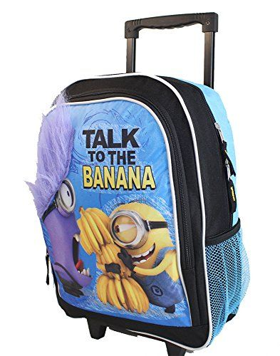 NEW Despicable Me Minions Rolling Backpack, , 34.85 | Awesome ...