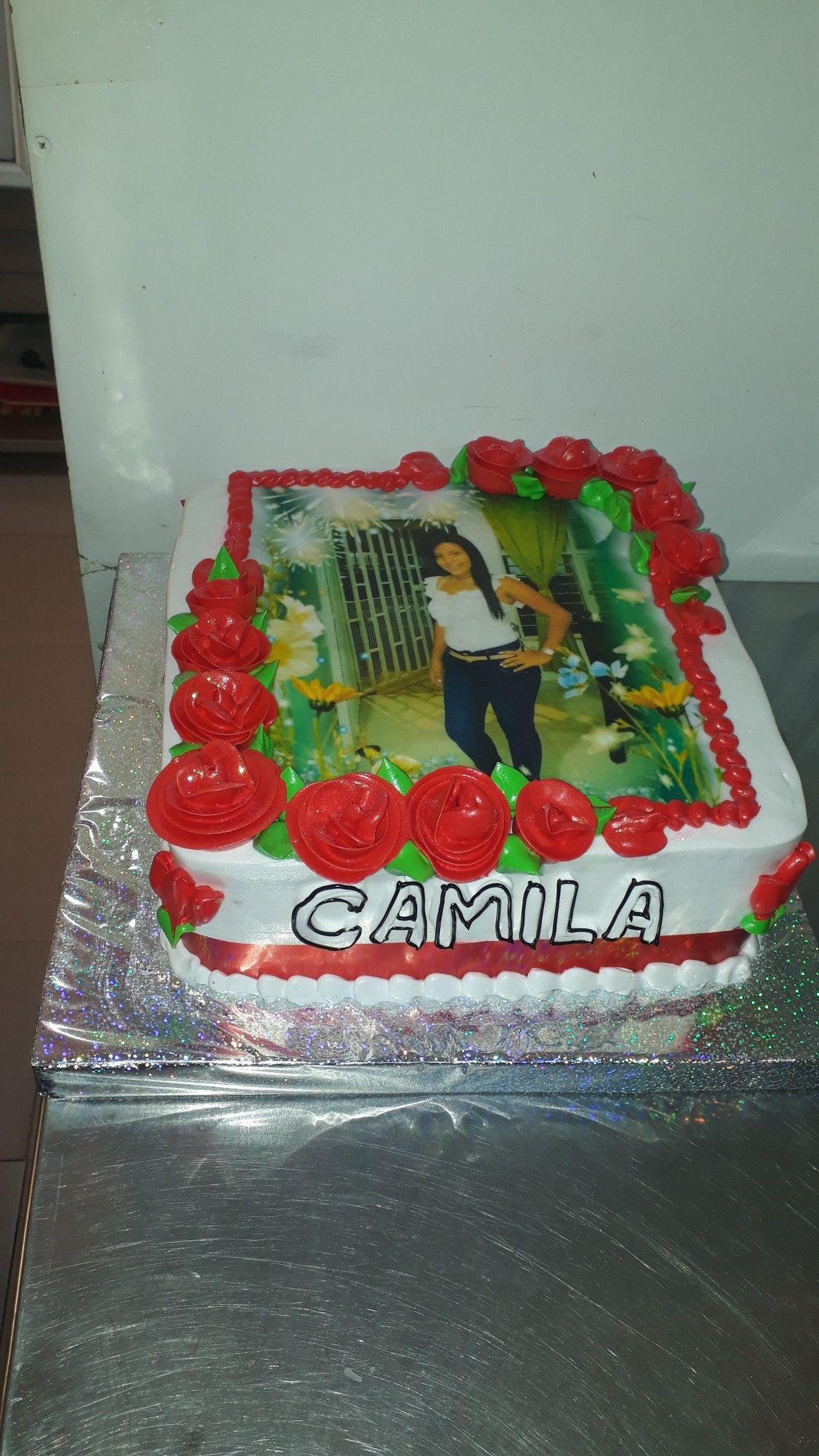 Torta Foto Papel De Arroz Cake Desserts Food